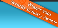 Memocam - Winner 2001 Security Industry Awards